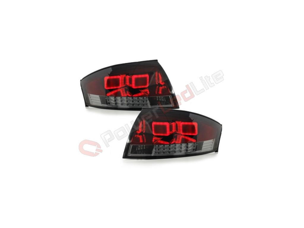 feux arri res led pour audi tt mk1 98 05 red smoke. Black Bedroom Furniture Sets. Home Design Ideas