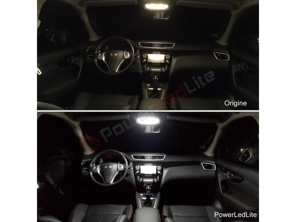 Pack led int rieur nissan juke powerledlite for Interieur nissan juke