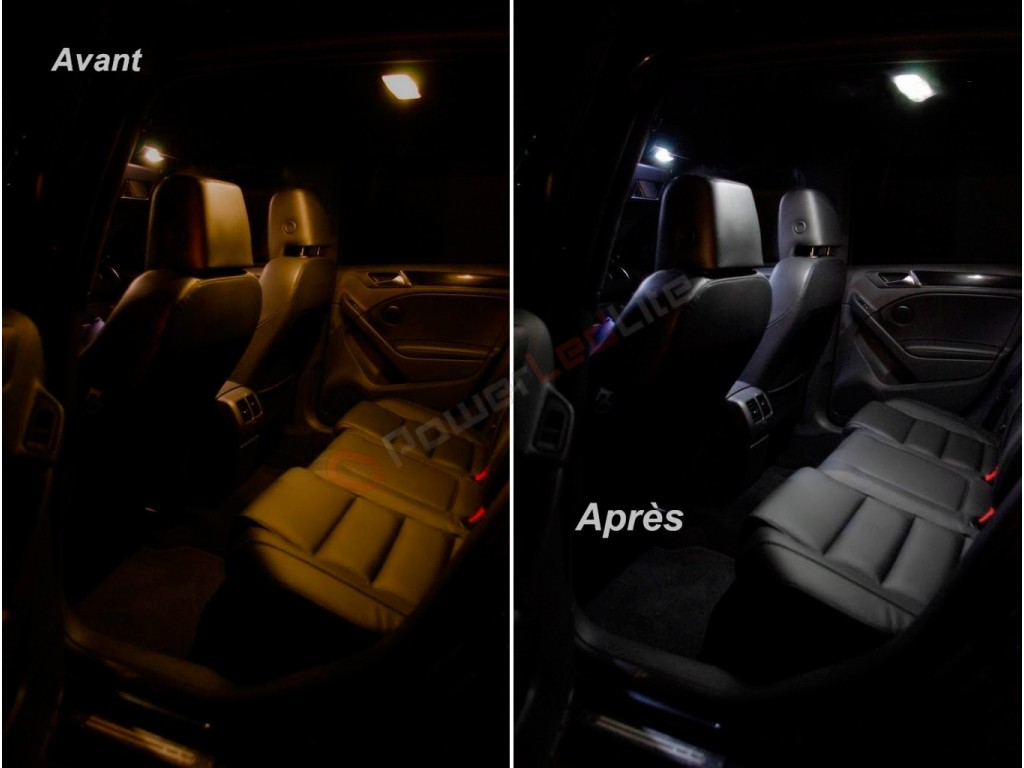 Pack led int rieur peugeot 308 cc cabriolet powerledlite for Interieur 308