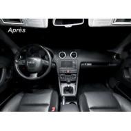 Pack LED Habitacle Intérieur BASIC pour Audi A3 8P