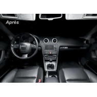 Pack LED Habitacle Intérieur BASIC pour Audi A3 8V (+2012)
