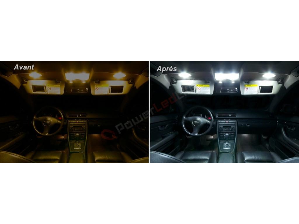 Pack led habitacle int rieur pour audi a4 b6 powerledlite for Audi a4 onderdelen interieur