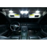 Pack LED Habitacle Intérieur pour Audi A4 B6