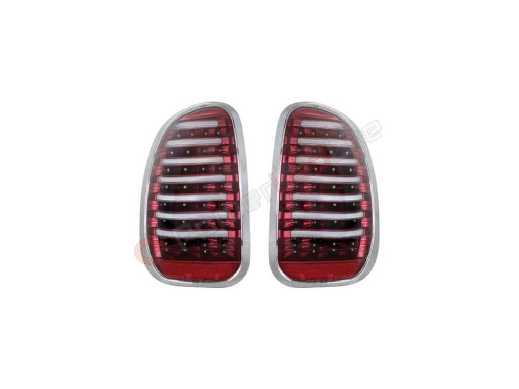 feux arri res led pour mini countryman r60 10 red clear. Black Bedroom Furniture Sets. Home Design Ideas
