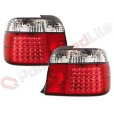 Feux Arrières à LED pour BMW E36 Compact 92-98_red/crystal
