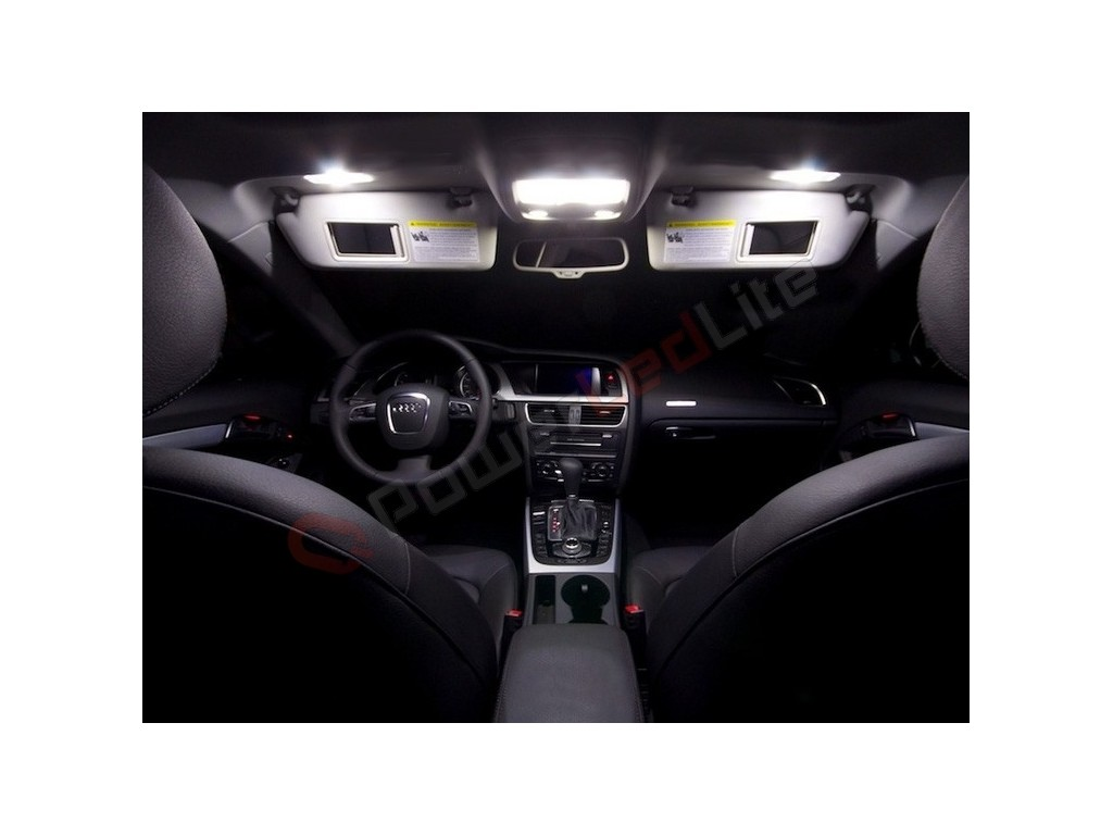 Pack led habitacle int rieur luxe pour audi a5 powerledlite for Interieur luxe