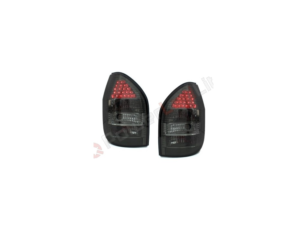feux arri res led pour opel zafira a 99 05 smoke. Black Bedroom Furniture Sets. Home Design Ideas