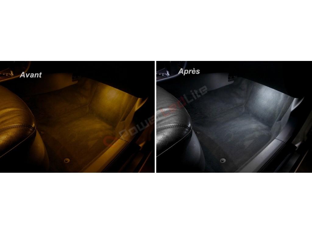 Pack led habitacle int rieur pour audi a6 c6 powerledlite for Audi a6 4f interieur