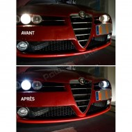 Pack Veilleuses Ampoules LED pour Alfa Romeo Spider