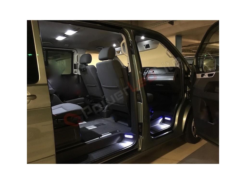 pack led int rieur pour volkswagen multivan t5. Black Bedroom Furniture Sets. Home Design Ideas