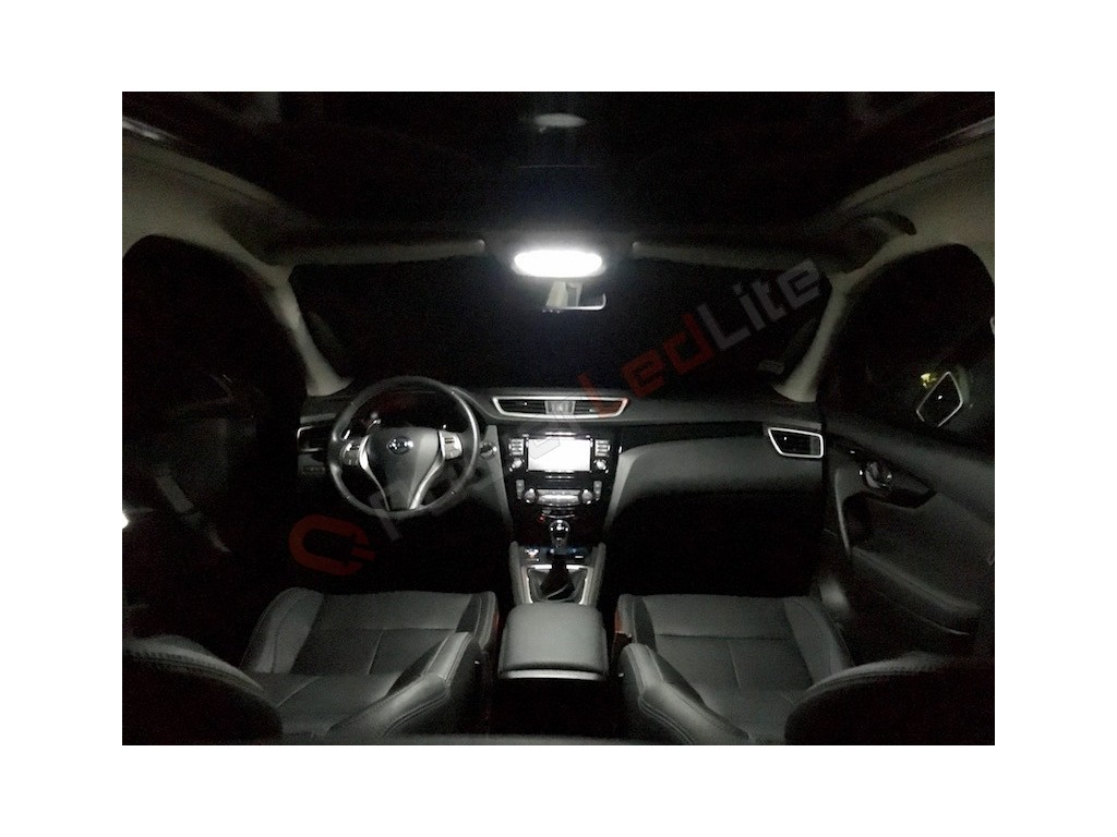 Pack led habitacle int rieur pour nissan juke powerledlite for Interieur nissan juke