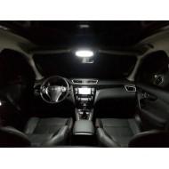 Pack LED Habitacle Intérieur pour Nissan Qashqai II