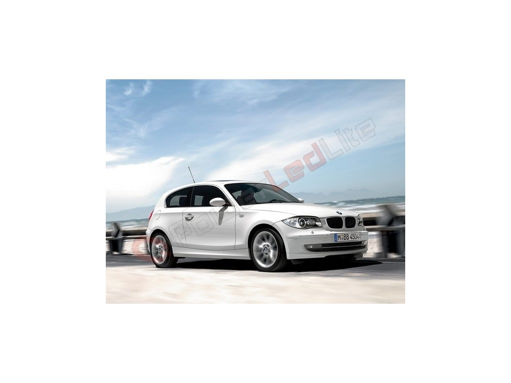 Pack led habitacle int rieur luxe pour bmw s rie 1 e81 e82 for Interieur serie 1