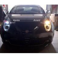Veilleuses halogène effet xenon Fiat Grande Punto