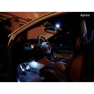 Pack LED Habitacle Intérieur pour Ford Fiesta mk6