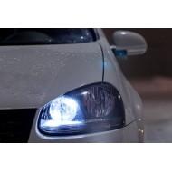 Pack Veilleuses Ampoules LED pour VW Polo 4 9N et 9N3 (2001-2009) et Golf 3