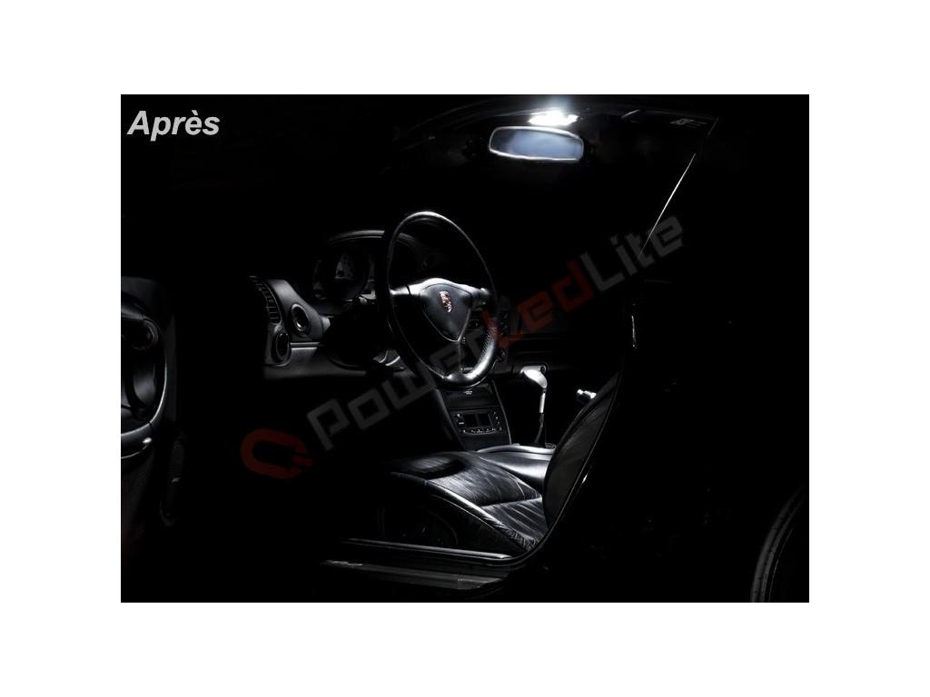 Pack led habitacle int rieur pour porsche 996 powerledlite for Porsche 996 interieur