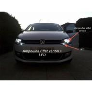 Feux de jour LED CREE haute puissance Polo 6R (+ 2009)