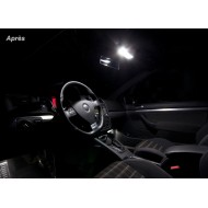 Pack LED LUXE habitacle interieur pour VW  Golf 5