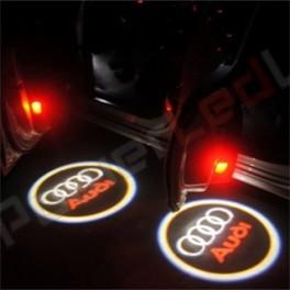 Logo LED Audi pour éclairage portes