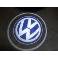 Logo LED Volkswagen pour éclairage portes