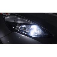 Pack Veilleuses Ampoules LED pour Audi A6 C6 4F Restylée (Facelift) (2008 - 2011)