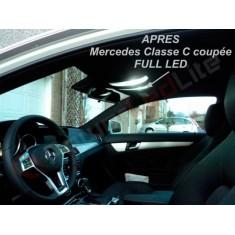 Pack LED Habitacle Intérieur pour Mercedes W203 coupé sport CLC phase 2 (+2008)
