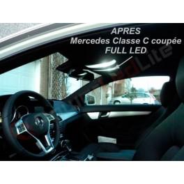 Pack LED intérieur Mercedes W203 coupé sport CLC phase 2 (+2008)