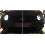 Pack Veilleuses Ampoules LED haute puissance CREE anti erreur pour Volkswagen Golf 6
