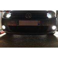 Pack Feux Anti Brouillard Ampoules Effet Xenon pour VW Golf 6