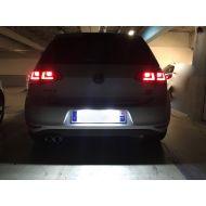 Pack Eclairage de Plaque d'immatriculation LED pour VW Golf 7