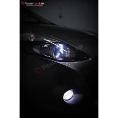 Pack Feux Anti Brouillard Ampoules Effet Xenon pour Saab 9-3