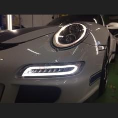 Feux de Jour DRL LED AURORA Design pour Porsche 997