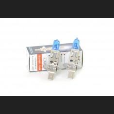 Pack de 2 Ampoules Halogènes Type H1 Effet Xénon Long Life 12V 55W Blanc Pur 6000K