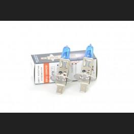 Pack de 2 Ampoules Halogène Type H1 Effet Xénon Long Life 12V 55W
