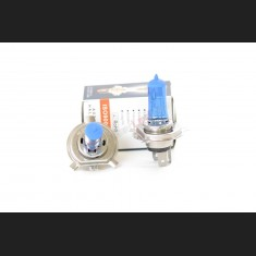 Pack de 2 Ampoules Halogène Type H4 Effet Xénon Long Life 12V 60/55W Blanc Pur 6000K