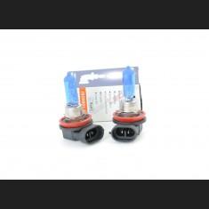 Pack de 2 Ampoules Halogènes Type H8 Effet Xénon Long Life 12V 35W Blanc Pur 6000K