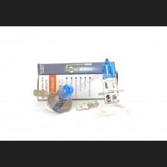 Pack de 2 Ampoules Halogènes Type H3 Effet Xénon Long Life 12V 55W Blanc Pur 6000K