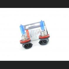 Pack de 2 Ampoules Halogènes Type H11 Effet Xénon Long Life 12V 55W Blanc Pur 6000K