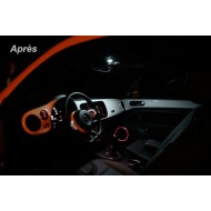 Pack LED Habitacle Intérieur pour Mazda 2 MKII