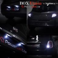 """BOX Vision PowerLedLite """"Arrière"""" pour Nissan Micra III"""