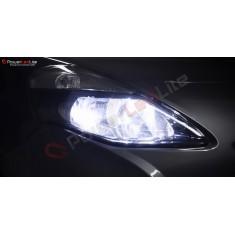 Pack Feux de Route Ampoules Effet Xenon pour Lancia Delta 3