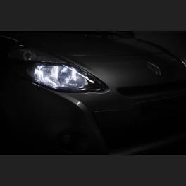 Pack Feux de Croisement Ampoules Effet Xenon pour Fiat Punto MKII A