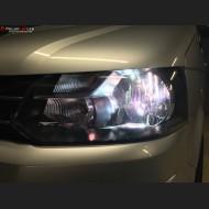 Pack Feux de Croisement Ampoules Effet Xenon pour Ford Transit Courier