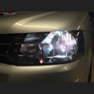 Pack Feux de Croisement Ampoules Effet Xenon pour Ford Transit Custom