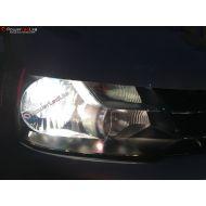 Pack Feux de Route / Croisement Ampoules Effet Xenon pour Peugeot Expert II