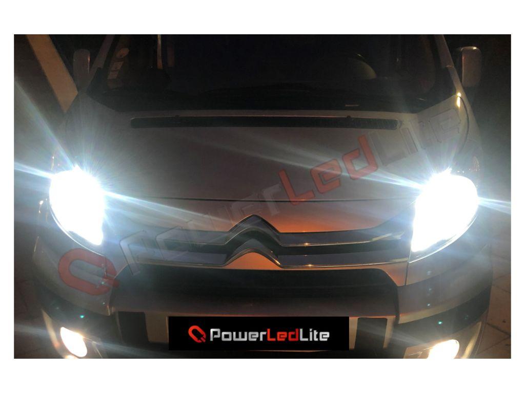 pack d 39 ampoules led haute puissance canbus blanc pour feux de route de fiat 500l