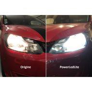 Pack Feux de croisement Ampoules LED Haute Puissance pour Dacia Logan II
