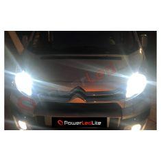 Pack Feux de route Ampoules LED Haute Puissance pour Peugeot 407
