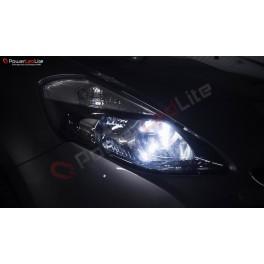 Pack Veilleuses Ampoules LED pour Renault Alaskan